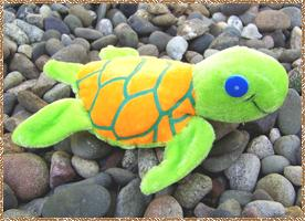 Click here for a larger picture of the plush sea turtle